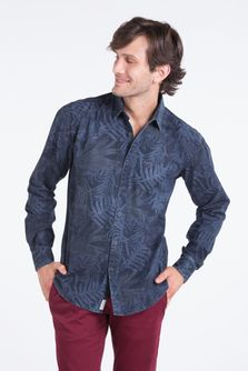 Camisa-Oyster