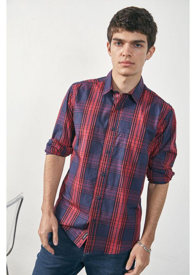 Camisa-Tartan